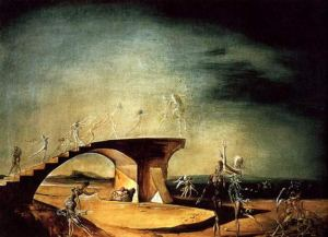 The Broken Bridge and the Dream - Salvador Dali